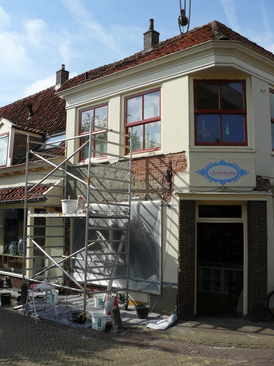 Winkelpand Hasselt | restauratie