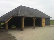 Landelijke Kapschuur | nieuwbouw